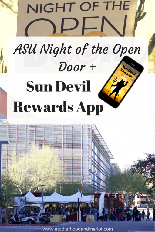 An overview of the Night of the Open Door event at ASU, and all of the details you need to know about the Sun Devil Rewards App. Plus a bonus!