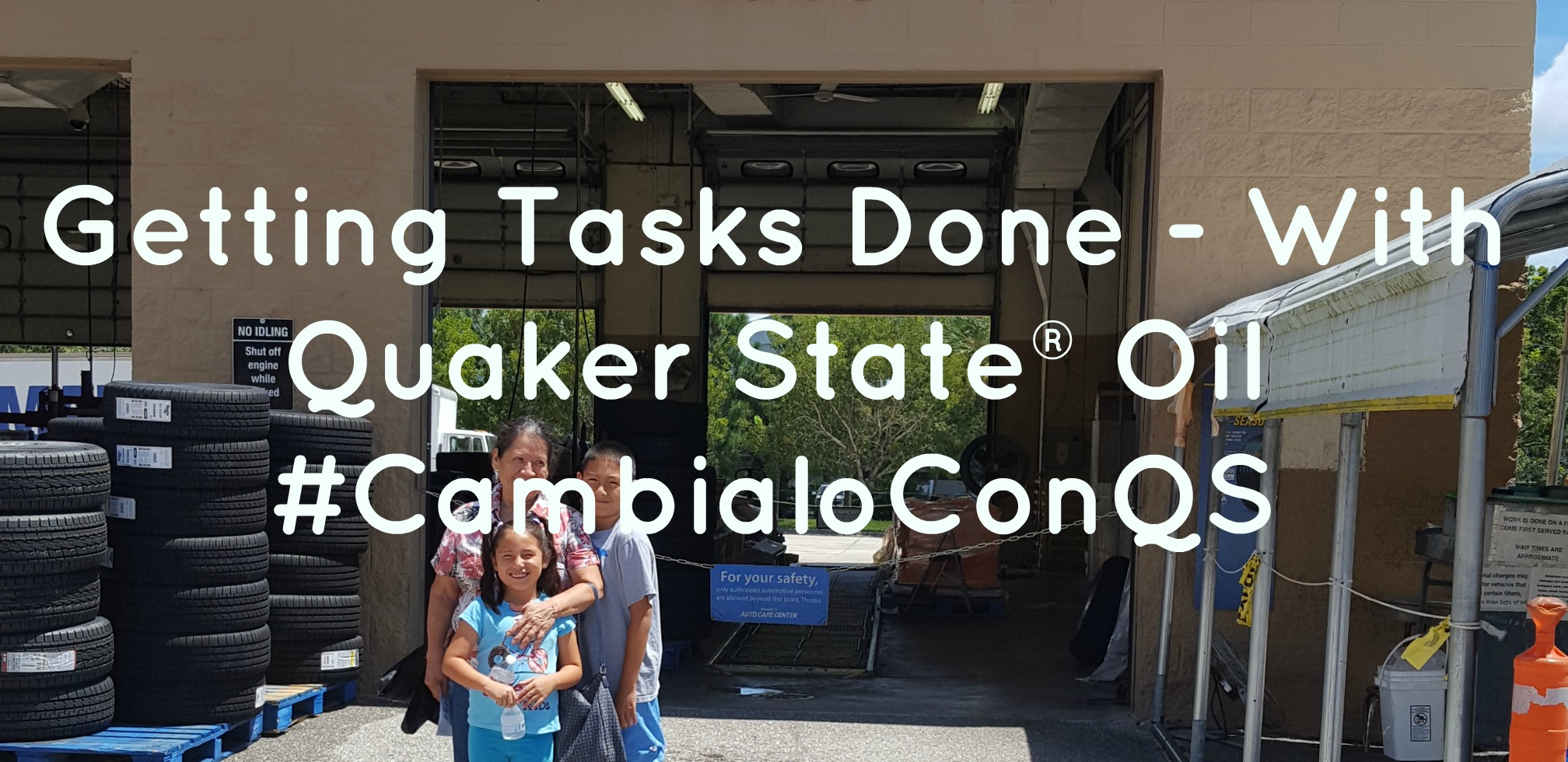 Getting Tasks Done With Quaker State Oil  Walmart Auto
