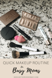 Quick Makeup for Busy Moms