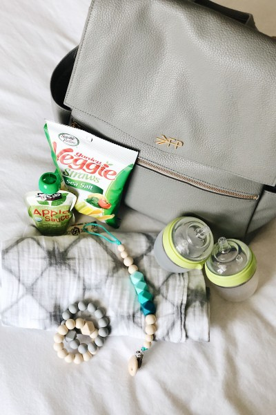 my diaper bag for two under 2