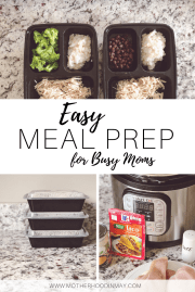 Easy Meal Prep for Moms