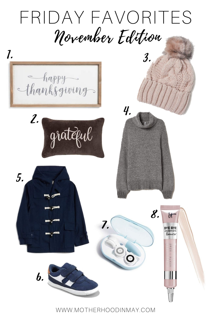 Friday Favorites || November Edition