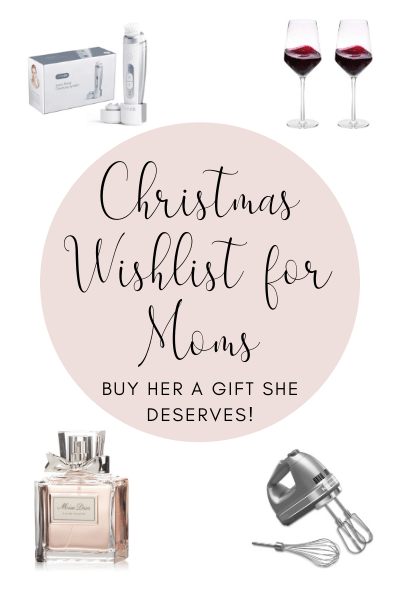 Christmas Wishlist for Moms