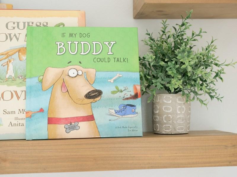 iseeme custom book for buddy the dog