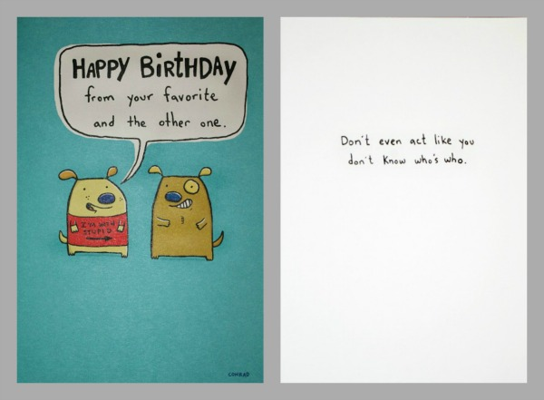 Help Me Decide Which Hallmark Birthday Card To Give To My