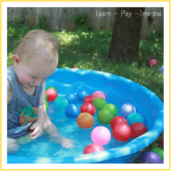 WATER PLAY WITH BALLS-20 OF THE BEST SUMMER ACTIVITIES FOR TODDLERS