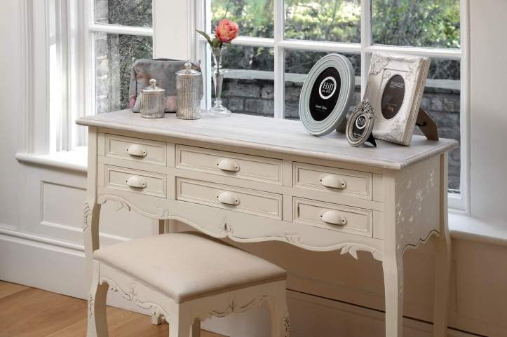 Classic Country Furniture dresser and stool
