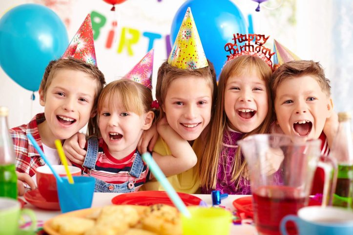 organise a children's birthday party
