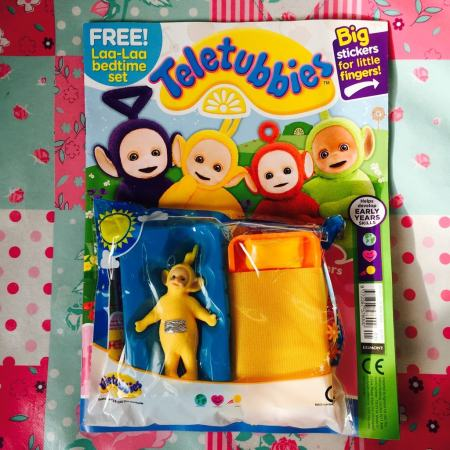 Teletubbies magazine review