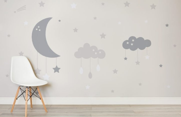 nursery wall murals