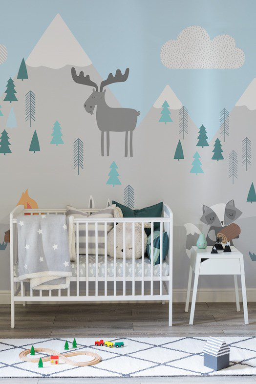 Baby Boy Bedroom Murals: 6 Beautiful Nursery Wall Murals