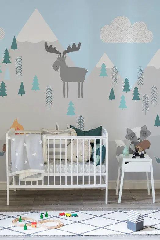 Baby Room Murals: 6 Beautiful Nursery Wall Murals