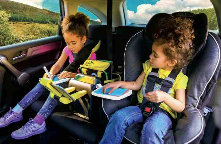 child car and booster seats