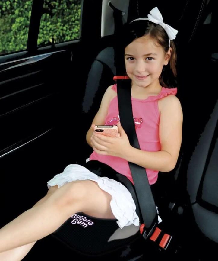Bubblebum car seat lifestyle