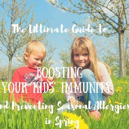 preventing allergies in Spring