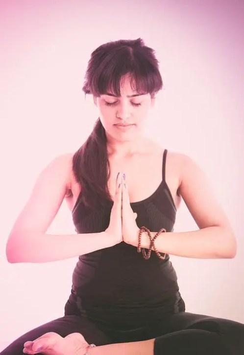 overcome anxiety through yoga