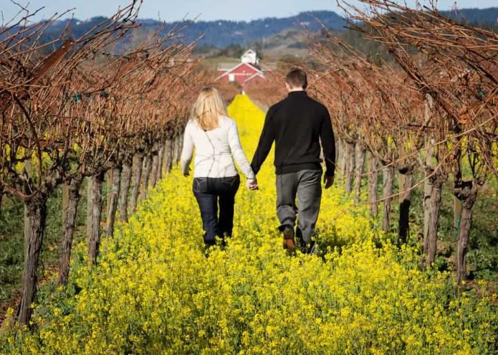 romantic getaway in Napa