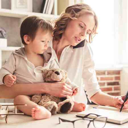 mums can balance work and family