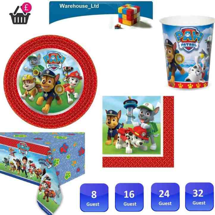 paw patrol party on a budget