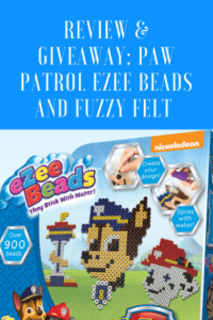 Review: Paw Patrol Ezee Beads and Fuzzy Felt +#win them both!