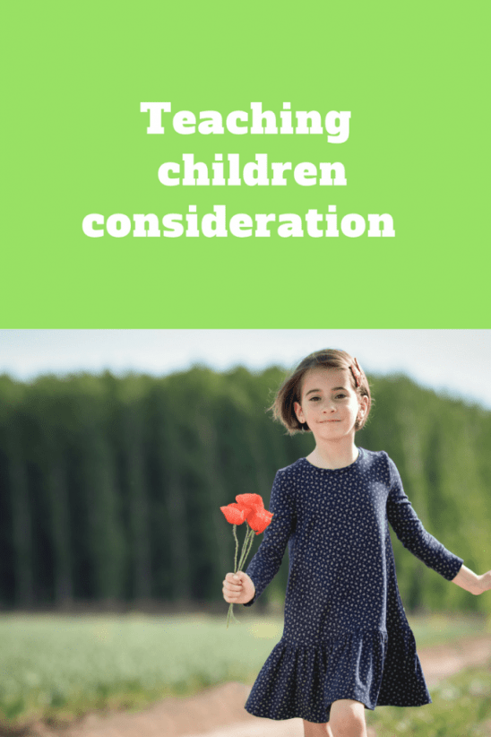 Teaching children consideration