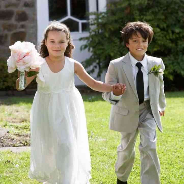 taking children to weddings