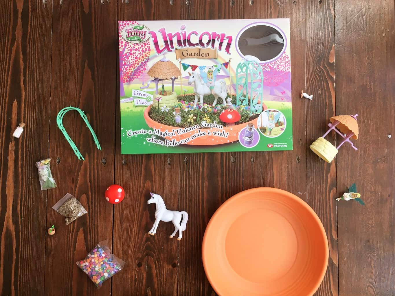My Fairy Garden Unicorn Garden review and #giveaway