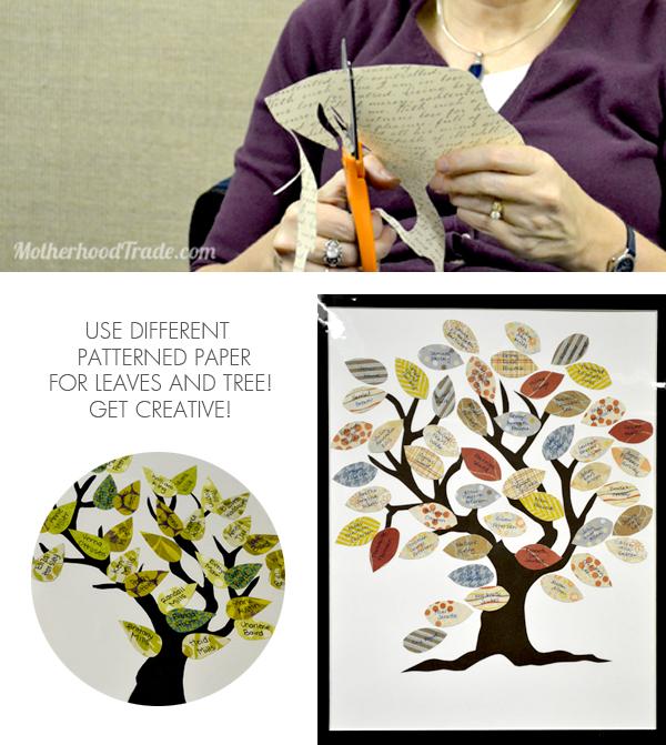 create a family tree free printable tricks of the motherhood trade
