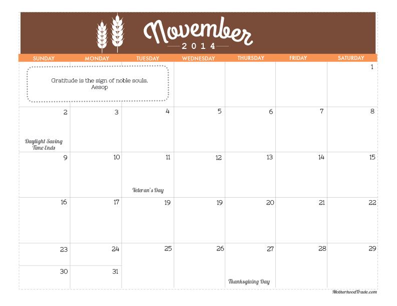 calendars_November 2014