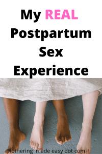 postpartum sex experience