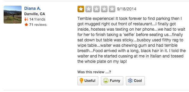 This Restaurant Is Trying To Be The Worst One On Yelp