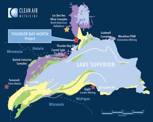 Clean Air Metals, V.AIR, Platinum, Ontario