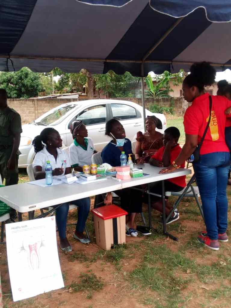 MOTHER-LOVE HOSPITAL FREE DENTAL SCREENING AT A FUNFAIR AT VICTORY PRESBY PARK ON 3RD OCT. 2018