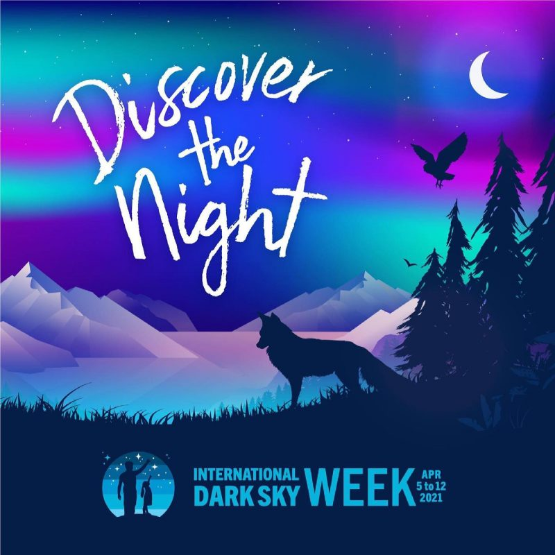 Poster for International Dark Sky Week.