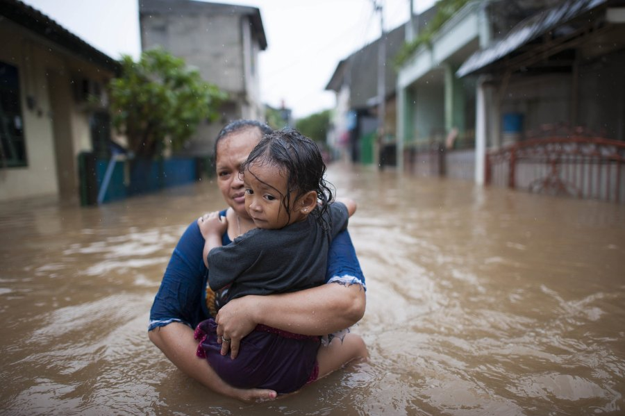 Jakarta was ranked as the city most threatened by environmental risks in the world, especially for flooding. Hendra A Setyawan, Kompas