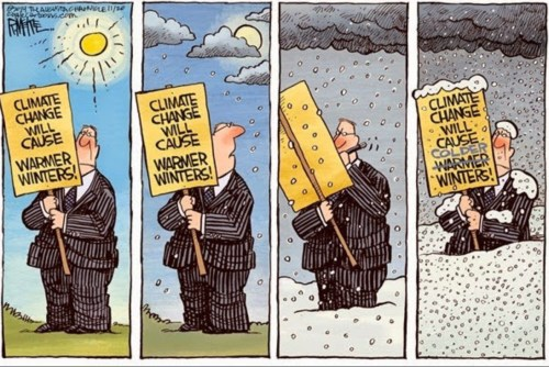 climate change warm and cold winters