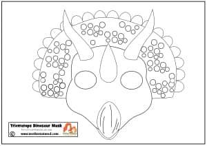 Printable dinosaur masks your kids will RAWR over