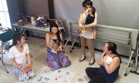 Lira子の部屋 夏休み特別企画 「ウサギとモフモフしちゃおう会!」