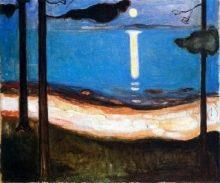 o0320026614334992135 - 月と月光は生命の象徴・生涯を愛と死がテーマの芸術に注いだ男〜ムンク展〜