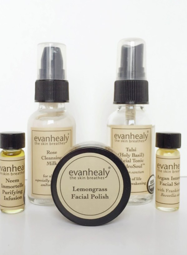 Beauty Review // Evan Healy Skin Care Kit