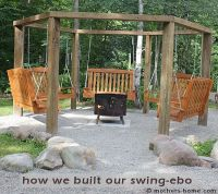 Fire Pit Swing Set {as seen on Pinterest}   Mother's Home