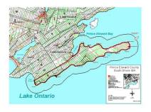 White Pines project location Prince Edward County
