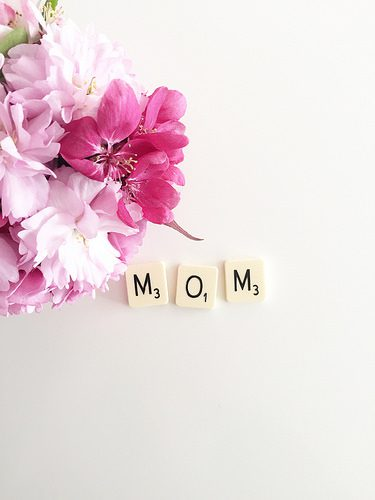 Buying Mothers Day Flowers photo