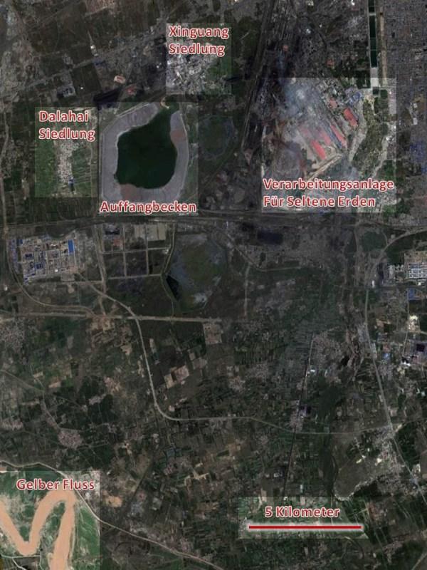 Lageplan Baotou