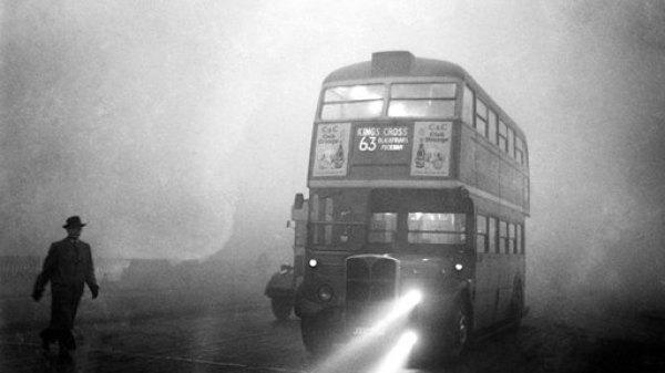 Bus Nebel
