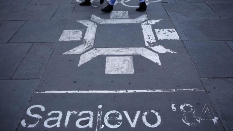 Sarajvo 1984 Logo