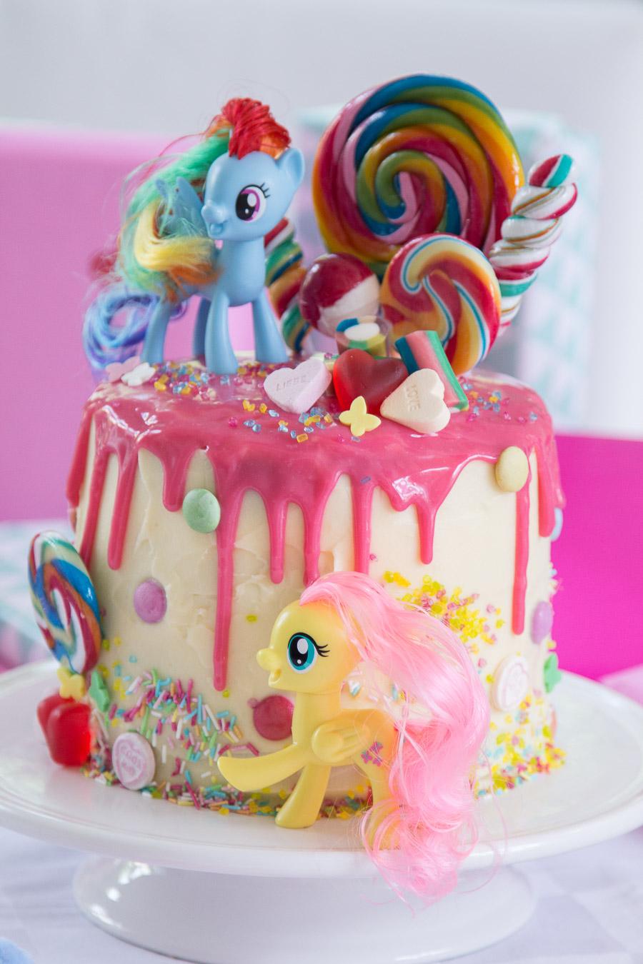 My Little PonyTorte zum 4 Geburtstag  Mothers Finest