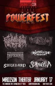 POWERFEST 2015 (Covington, KY) @ Madison Theater | Covington | Kentucky | United States