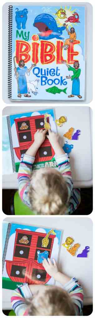 SO CUTE! Printable Quiet Book.
