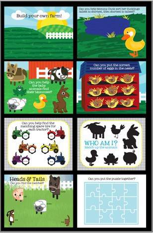 Farm Quiet Book Printable